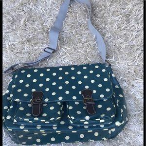 Handbags - Vinyl Pilka Dot Crossbody Satchel 🌷🌷🌷🌷🌷